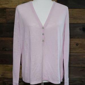 Victoria's Secret Henley Lightweight Sleep Shirt